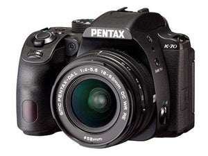 Pentax K-70 with 18-50mm Lens
