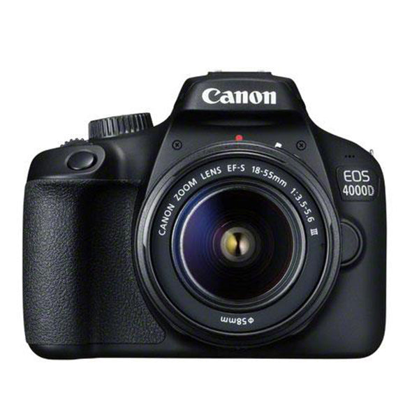 Canon EOS 4000D with EF-S 18-55mm III DC Lens and Free 16GB SD Card