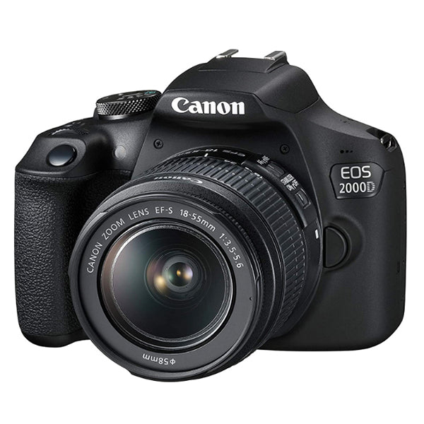 Canon EOS 2000D With 18-55mm IS II Lens