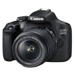Canon EOS 2000D With 18-55mm IS II Lens with Bag and 32Gb Memory Card