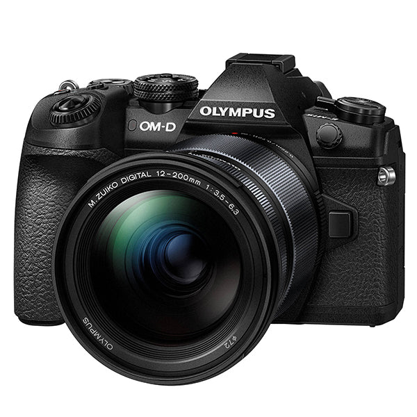 Olympus OM-D E-M1 Mark II with 12-200mm f3.5-6.3 Pro lens
