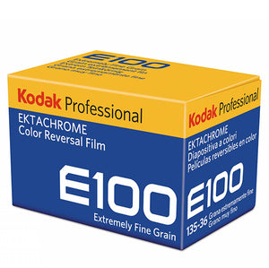 Kodak Professional E100 Ektachrome Color Reversal Film
