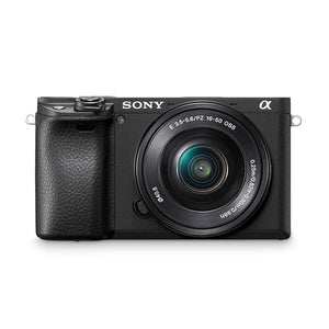 Sony α6400 with 16-50mm Lens
