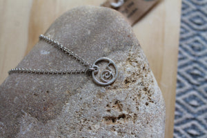 Flowing tide necklace on 40cm chain