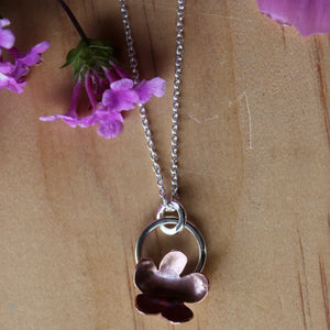 Forever flowering necklace #3 45cm chain