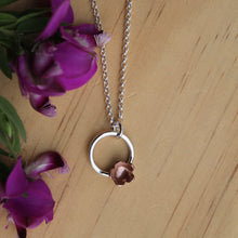 Load image into Gallery viewer, Forever flowering necklace #1 40cm chain