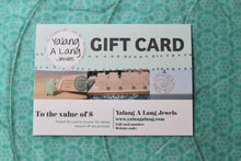 Load image into Gallery viewer, GIFT CARD - Choose the value