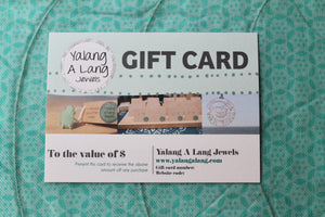 GIFT CARD - Choose the value
