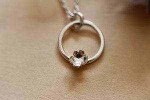 Forever flowering necklace