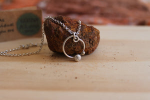 Bouldering necklace on 45cm chain