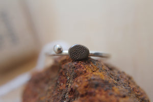 Desert pebble ring - size M1/2