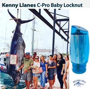Kenny Llanes Lures - C-Pro - 808 Baby Locknut - New-New Lures-Kenny Llanes-Big Game Lures Hawaii