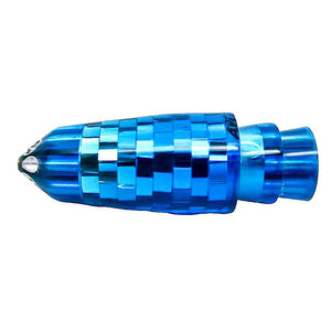 "Ali'i Kai Lures -New Color! Blue Six Jet Disco Ball 9"" Bullet-New Lures-Big Game Lures Hawaii"
