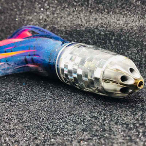 "Six Jet 9"" Bullet Trolling Lure by Ali'i Kai - Skirted - New-New Lures-Big Game Lures Hawaii"