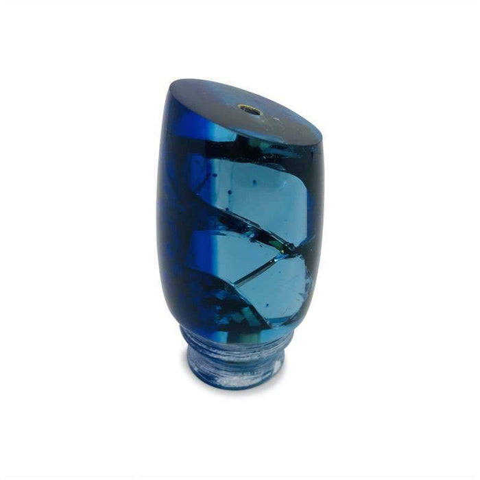 WOW! Bomboy Lures  Shortnutt  - Blue Tint Cracked Mirror - Limited Edition! -New