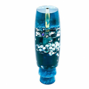 Must SEE! Lava Lamp Lures - Pearl Belly in Blue Liquid - New
