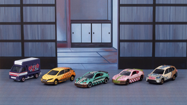 The Cast of Demon Slayer Become Toy Cars Courtesy of Tomica