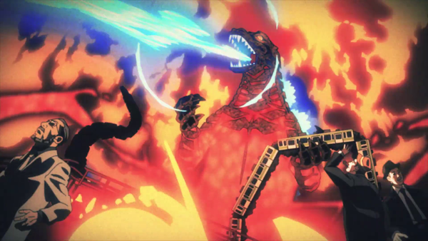 Watch the Opening and Ending of Godzilla Singular Point!