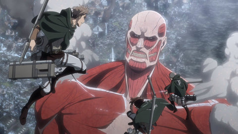 The Corps vs. the Colossal Titan