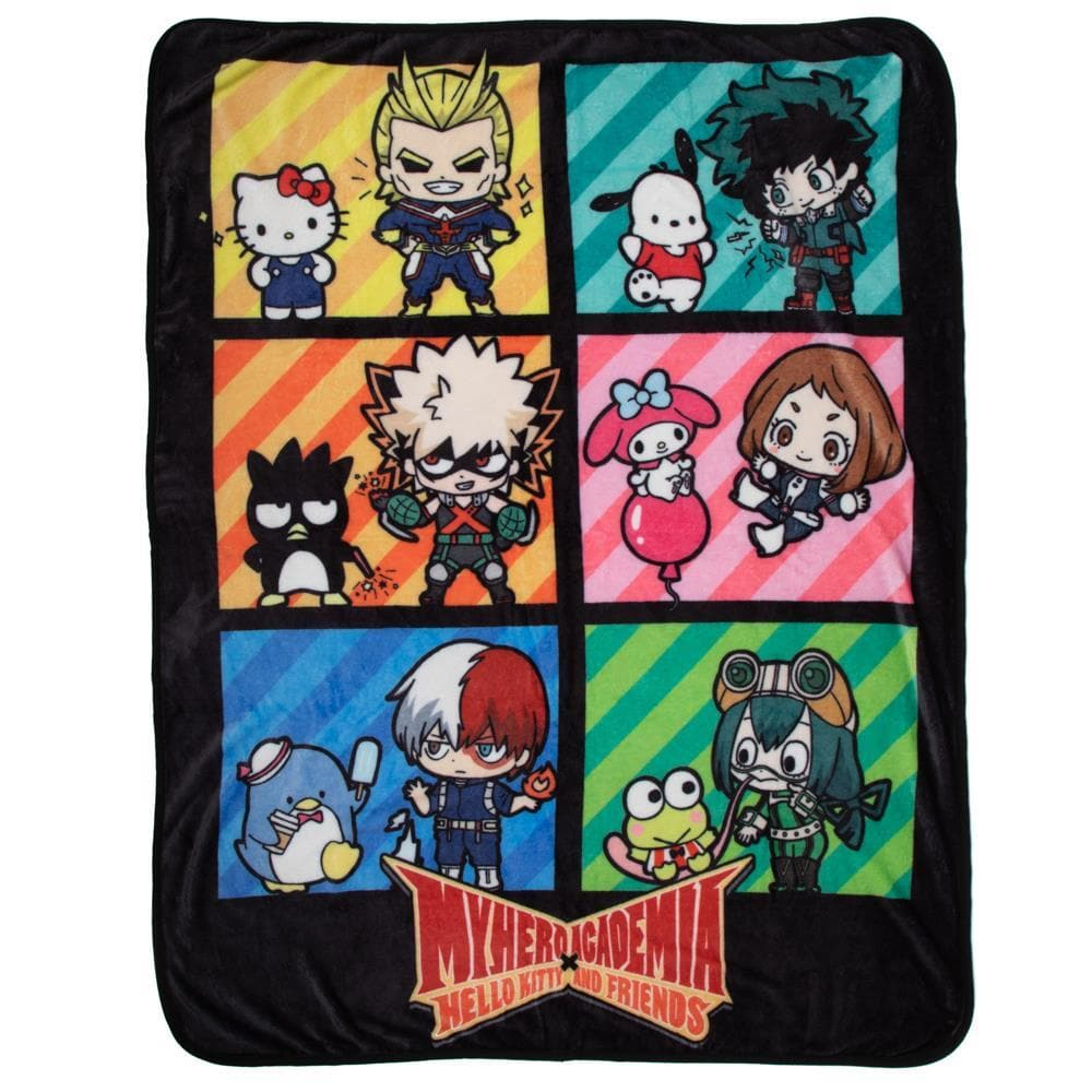 My Hero Academia Digital Print Throw
