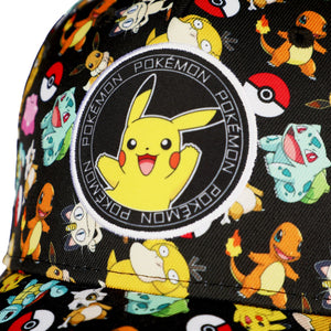 Pokemon Allover Pokemon Hat