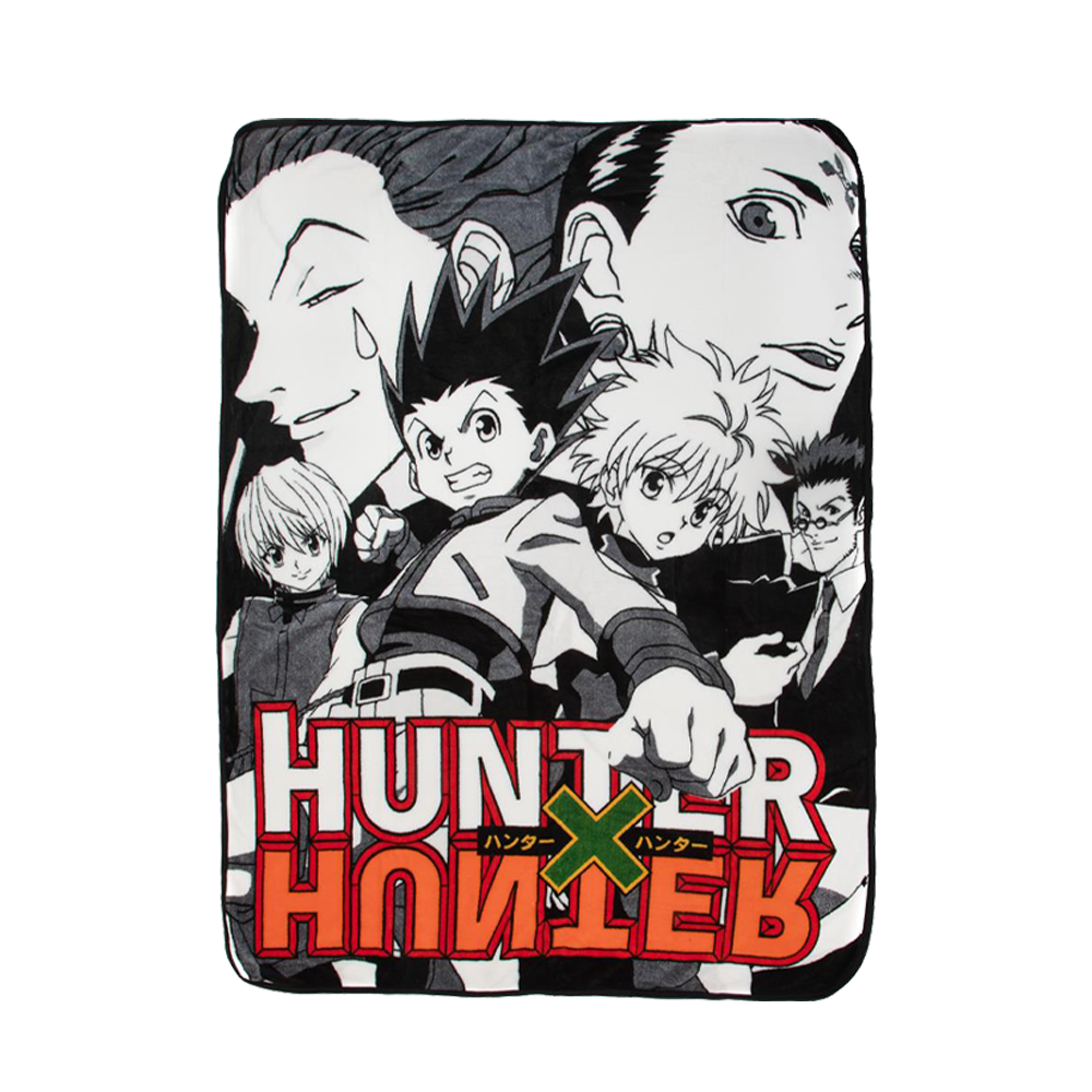Hunter X Hunter Fleece Throw