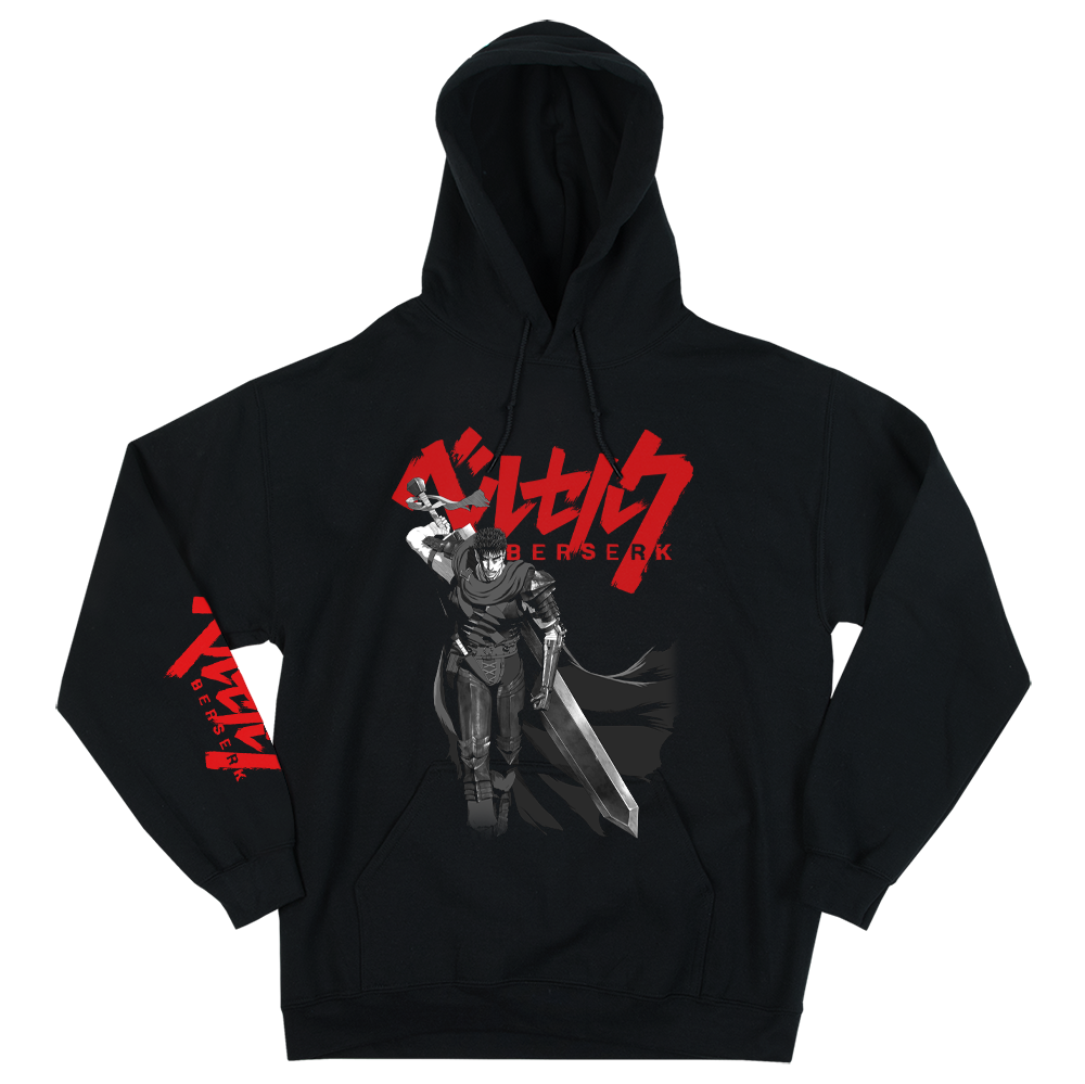 Berserk Dragon Slayer Black Hoodie