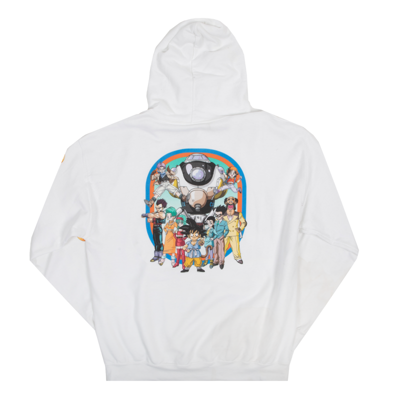 Dragon Ball GT Group White Hoodie
