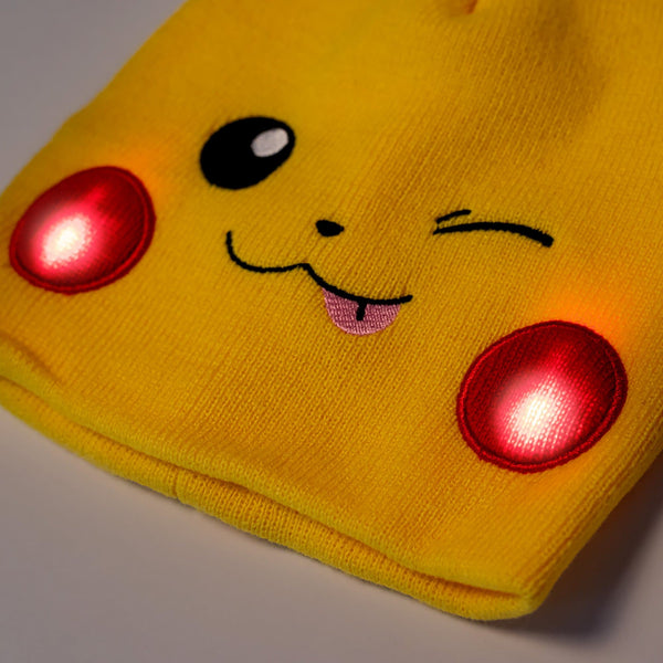 Pokémon Pikachu Light Up Beanie