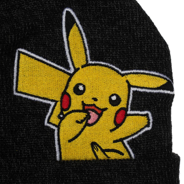 Pokémon Embroidered Pikachu Beanie