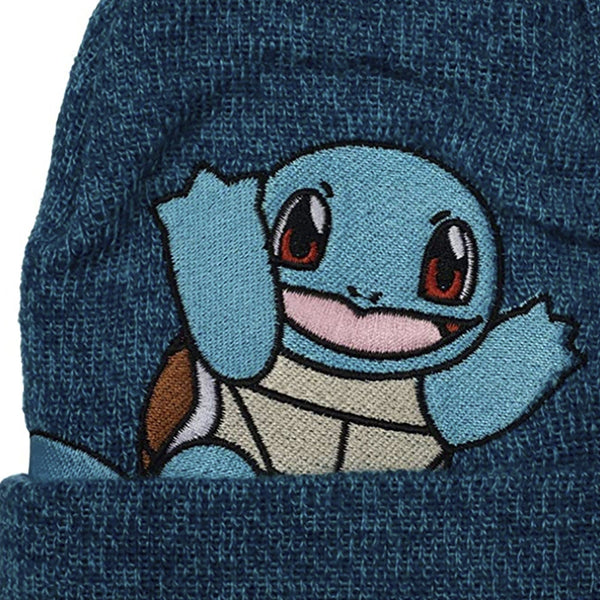 Pokemon Squirtle Embroidered Beanie