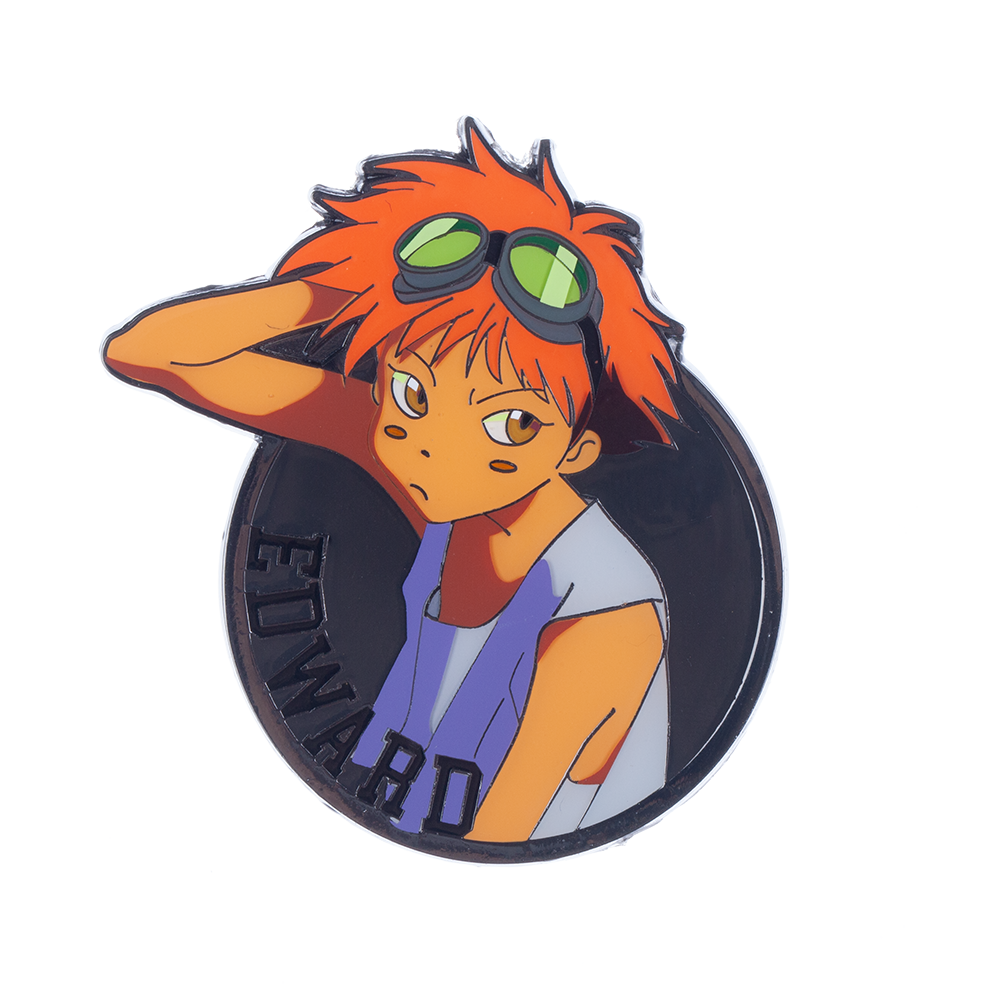 Cowboy Bebop Edward Lapel Pin