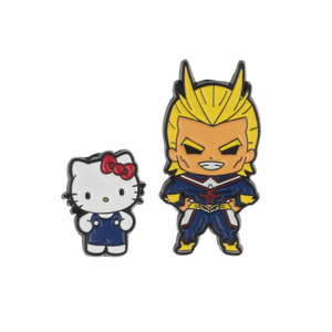 My Hero Academia X Hello Kitty & Friends All Might Lapel Pin Set