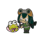 My Hero Academia X Hello Kitty & Friends Froppy Keroppi Lapel Pin