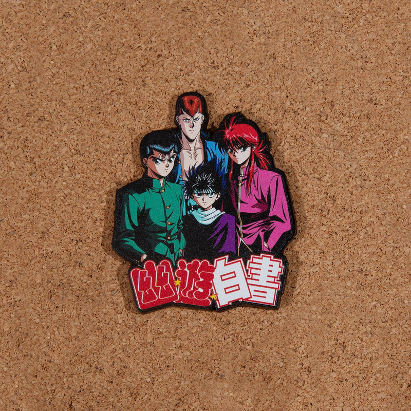 Yu Yu Hakusho Group Lapel Pin
