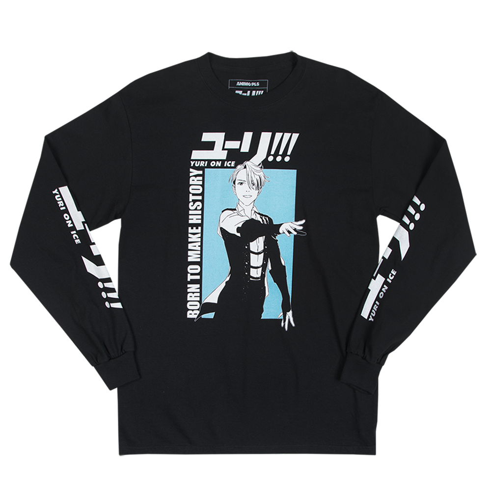 Yuri on Ice Victor Longsleeve in Black