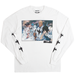 Kill la Kill Student Council White Long Sleeve Tee