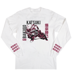 My Hero Academia Bakugo White Long Sleeve