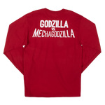 Godzilla Terror of Mechagodzilla Red Long Sleeve Tee