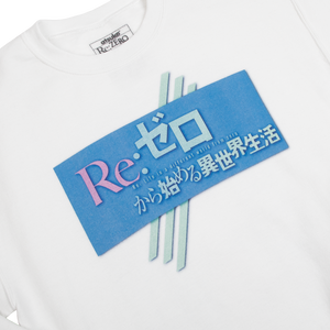 Re:Zero Rem Ram White Crew Neck Sweatshirt