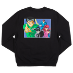 Yu Yu Hakusho Group Black Sweatshirt