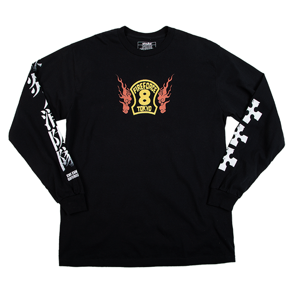 Fire Force Shinra Long Sleeve