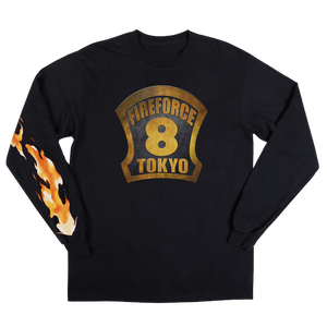 Fire Force Helmet Badge Long Sleeve
