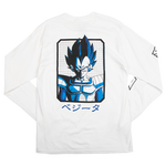 Dragon Ball Z Vegeta White Long Sleeve