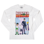 Hunter x Hunter Group White Long Sleeve Tee