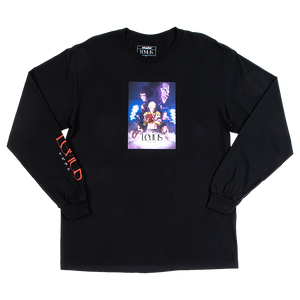 Levius Key Art Long Sleeve Black Tee