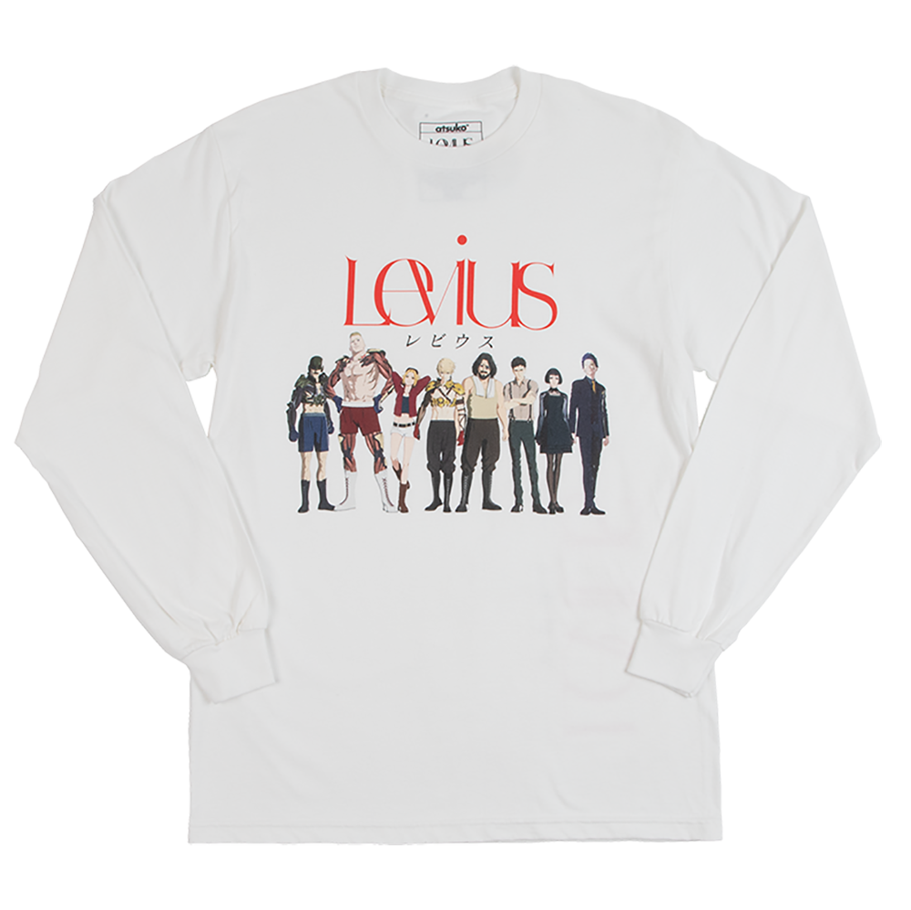 Levius Cast White Long Sleeve Tee