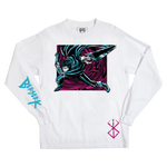 Berserk Final Slash White Long Sleeve
