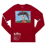 Ultraman Slamming Red Long Sleeve