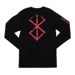 Berserk Dragon Slayer Black Long Sleeve